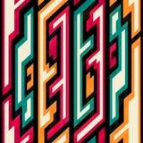 Vintage geometric seamless pattern Stock Image