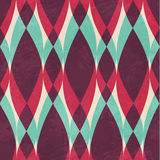 Vintage geometric seamless pattern Royalty Free Stock Photo