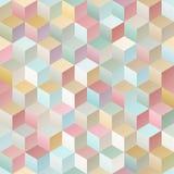 Vintage geometric seamless pattern Stock Photography