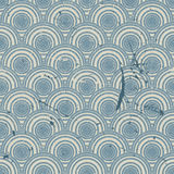 Vintage geometric seamless pattern, vector repeat Stock Photo