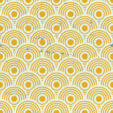 Vintage geometric seamless pattern, vector repeat background wit Royalty Free Stock Photo