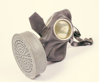 Vintage german civilian gas mask. WWII. Stock Images