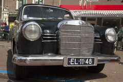Vintage german mercedes 190 Stock Image