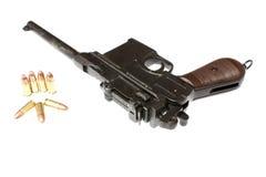 Vintage German pistol Stock Photography
