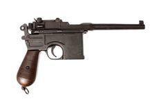 Vintage German pistol Royalty Free Stock Photo