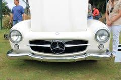 Vintage german super sports car front Royalty Free Stock Images