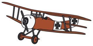 Vintage germany biplane Royalty Free Stock Photo