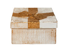 Vintage Gift Box Stock Images