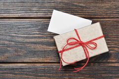 Vintage gift box Royalty Free Stock Photography