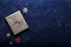 Vintage gift box Royalty Free Stock Images