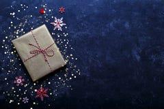 Vintage gift box Stock Image