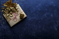 Vintage gift box Royalty Free Stock Image