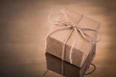 Vintage gift Stock Photography