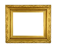 Vintage Gilt Picture Frame Stock Photography