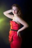 Vintage girl Royalty Free Stock Photos