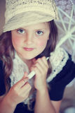 Vintage girl Royalty Free Stock Photo