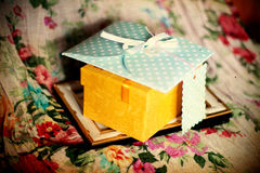 Vintage girly background Royalty Free Stock Images