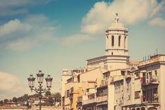 Vintage Girona Royalty Free Stock Photo