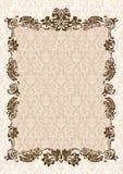Vintage glamour frame decor Royalty Free Stock Image