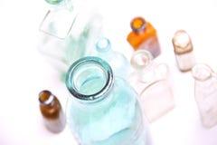 Vintage glass bottles Royalty Free Stock Photo