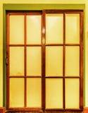 Vintage glass door Stock Photos