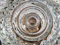 Vintage glass swirl Stock Image