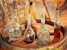 Vintage Glass utensils Stock Image