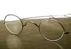 Vintage glasses Stock Image