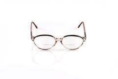 Vintage glasses on white background Stock Photos