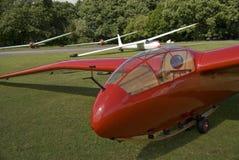 Vintage glider,sailplane. Stock Image
