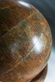 Vintage globe Stock Photography