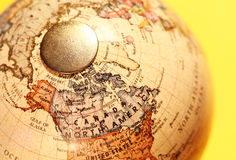 Vintage Globe stock images