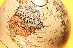 Vintage Globe royalty free stock photos