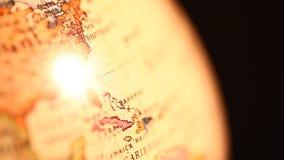 Vintage Globe stock video