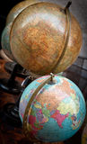 Vintage globe collection Stock Photography