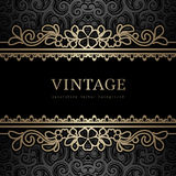Vintage gold background Royalty Free Stock Photos