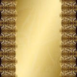 Vintage gold background Stock Photo