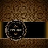 Vintage gold background Stock Photos