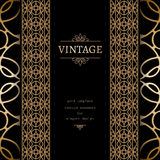 Vintage gold background Royalty Free Stock Images