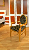 Vintage gold chair Royalty Free Stock Image