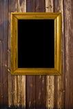 Vintage gold frame Stock Photography