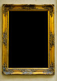 Vintage gold frame Royalty Free Stock Photo