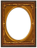 Vintage Gold Frame. Actual photo of a vintage Gold Frame from early 1900 Stock Photo
