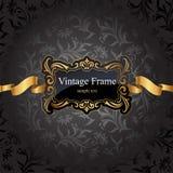 Vintage gold frame Stock Photo