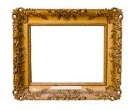 Vintage gold frame Royalty Free Stock Photo