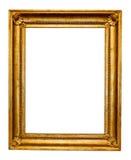 Vintage gold frame Stock Images