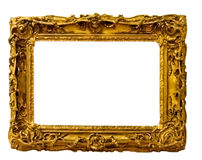 Vintage gold frame Stock Photo