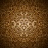 Vintage gold pattern Stock Images