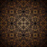 Vintage gold pattern Royalty Free Stock Image
