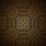 Vintage gold pattern. Vintage gold seamless pattern, ornamental background Royalty Free Stock Images